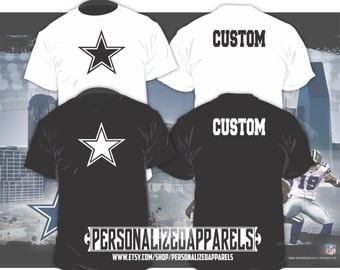 Dallas Cowboys Custom Shirt PERSONALIZED