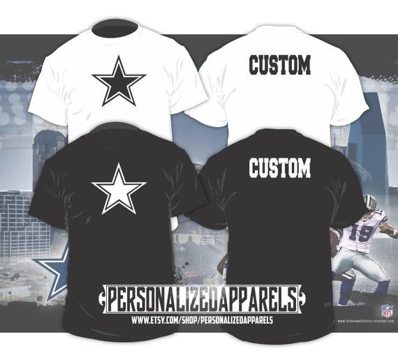 Dallas cowboys custom shirt personalized for Custom made shirts dallas