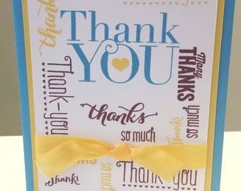 Thank You Card: Stampin Up