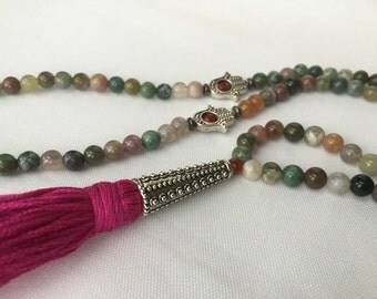 Tasbeeh - Dhikr - Dhikr Beads - 99 Tasbih - Green Tasbih - Subha - Misbaha - Islamic Rosary - Islamic Prayer Beads - Muslim Prayer Beads