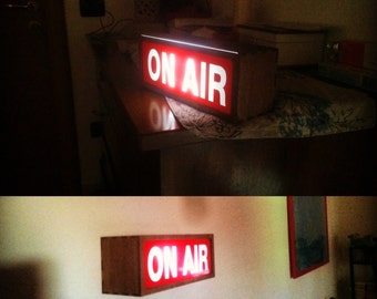 On AIR * * * Small neon signs from interior design * * *