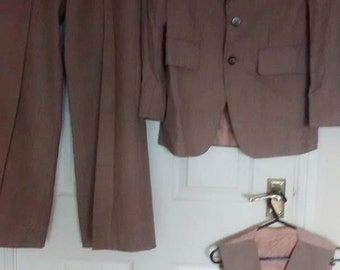 Vintage Men's 3 piece suit ICI Terylene