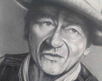 Portrait of John Wayne