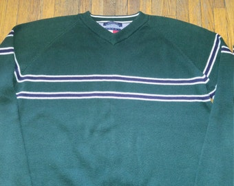 Tommy Hilfiger mens v-neck sweater