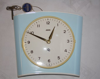 Vintage clock Wehrle from Germany. Like new!