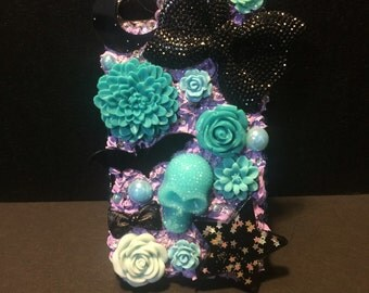 Iphone 4/4s pastel goth decoden case READY TO SHIP
