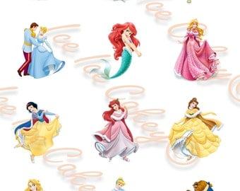 Princesses Cupcake Toppers