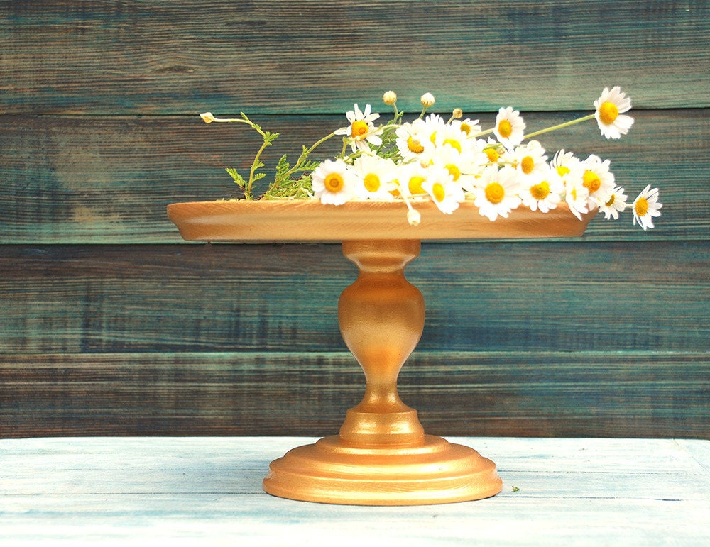 wooden cake stands for wedding cakes custom gold wedding cake stand wooden cake stand gold cake 27589