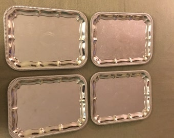 Vintage Serving Trays Made in Germany