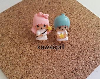 My Little Twin Stars earstuds / earrings cute kawaii harajuku Lolita cosplay decora cartoon rilakkuma