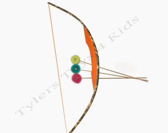 Digital Camouflage PVC Bow and Arrow Set, 1 Bow & 3 Arrows