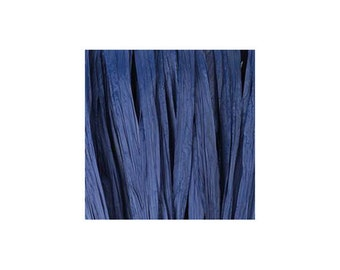 Raffia blue Matt - artificial raffia - 10gr - raffia Ribbon - raffia thread