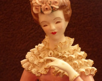 Florence Ceramics MINT Margaret Figurine in Pink