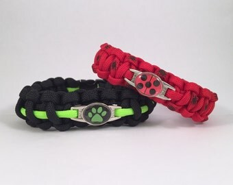 Miraculous: Tales of Ladybug and Chat Noir Paracord Bracelet