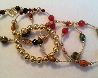 5 piece bracelet set