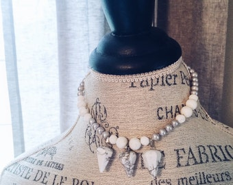 Pearl and Marble Choker