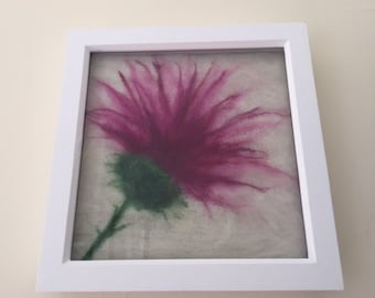 Needle Felted Scottish Thistle Picture