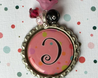 PINK BOTTLECAP NECKLACE