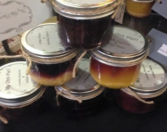 6 pack of 125 ml mason jar pies (250ml upgrade available)