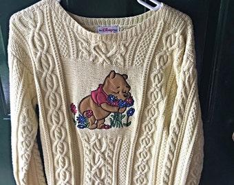 Vintage Winnie the Pooh Sweater