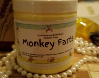 Monkey Farts Whipped Cream Soap