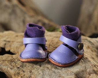Mary Jane shoes for Kikipop Color Purple