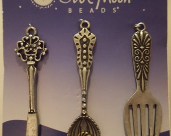 Metal Cutlery Charms
