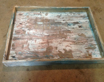 Reclaimed Wood Serving Trays
