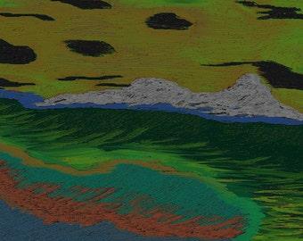 Painting: Otherworld Ocean Breezes
