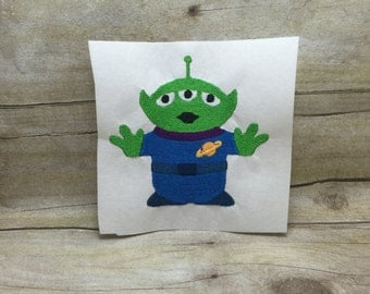 Alien From Toy Story Embroidery Design,Toy Story Embroidery