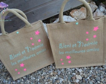 Customizable Beach tote bag