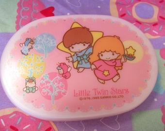 30% OFF! - Vintage 1985 Sanrio Little Twin Stars Bento Box