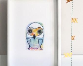 Little Owl Illustration