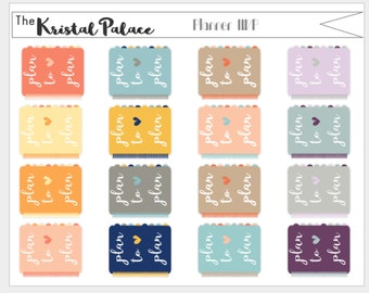 Plan to Plan Erin Condren and Inkwell Press Planner Stickers
