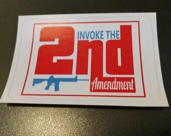 Invoke the 2nd Sticker