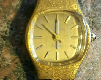 1980s Vintage Jules Jurgensen 6026 lady's Quartz Watch