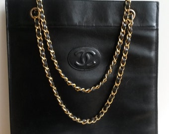 Great vintage Chanel tote