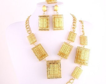 Bold Elegant Jewelry Set!!!