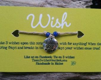 Sand dollar Wish bracelet