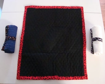 Quilted Travel Blanket for Dogs