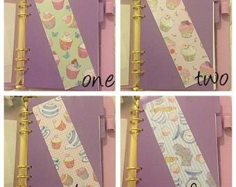 Cupcake/baking bookmark