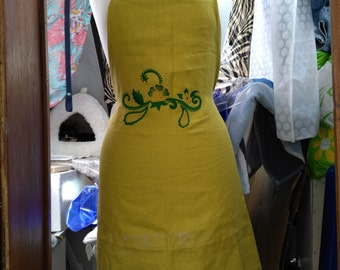 Celebrity Apron with embroidery