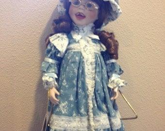 Vintage limited edition collectible music doll