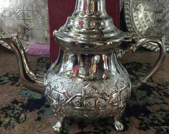 Moroccan tea pot original