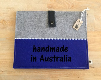 TABLET SLEEVE/CASE for iPad 2/3/4 - 100% German wool felt
