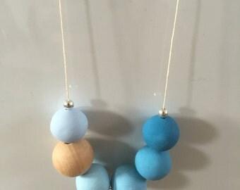 Light Blue Ombre Necklace