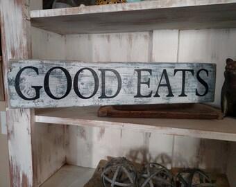 Good Eats sign