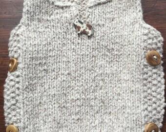 Easy-on Side Button Vest