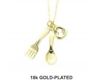 Chef Necklace - 18k Gold Plated