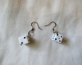 Vintage Lucky Dice Earrings